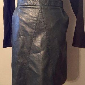 Zara Skirts - ZARA leather Skirt